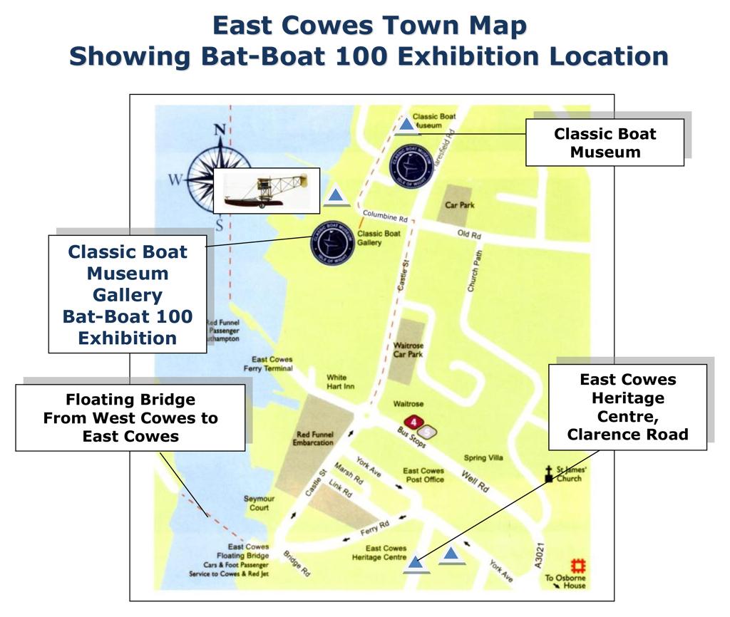 Bat-Boat 100 Exhibition location