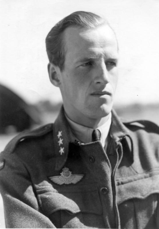 Werner Christie, 332 Squadron Leader. © Crown Copyright