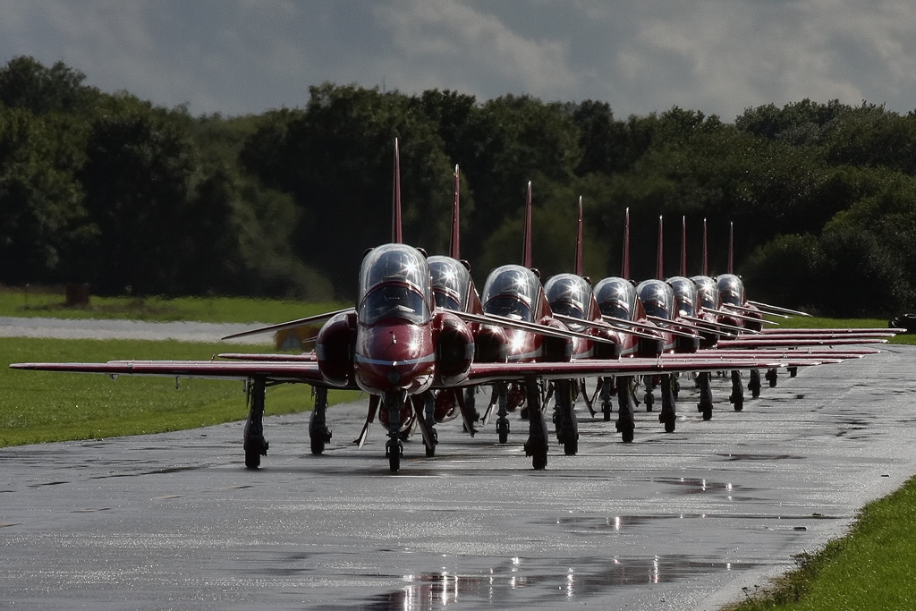 2014 is the Red Arrows' 50th display season © Gareth Stringer