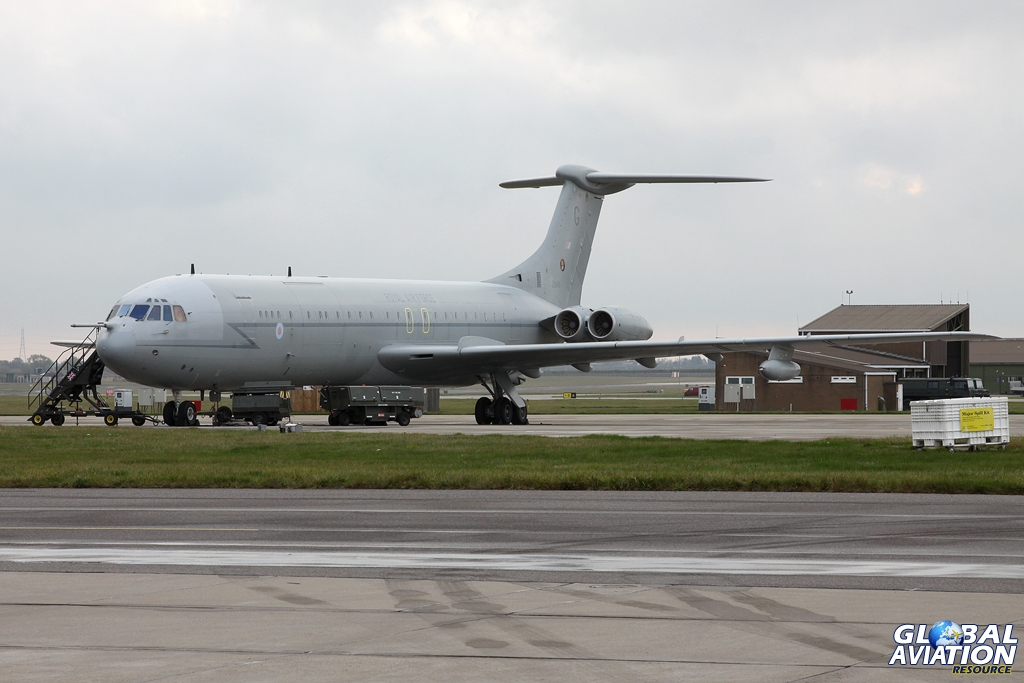 ZA148 seen representing the VC10 Force at a media event to mark the successful completion of the UK's involvement in Libya in 2011, known as Op ELLAMY © Karl Drage - www.globalaviationresource.com